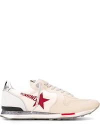 Deportivas en blanco y rojo de Golden Goose Deluxe Brand
