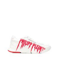 Deportivas en blanco y rojo de Philipp Plein