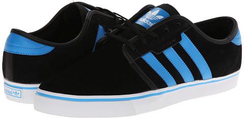 adidas negras y azules