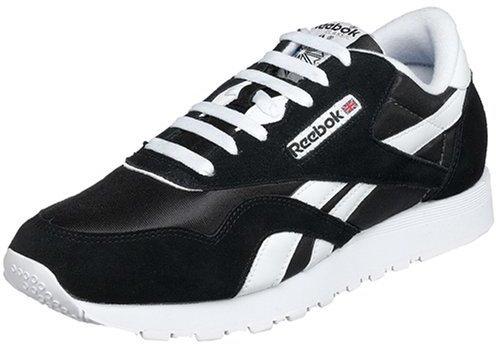 Deportivas en negro y blanco de Reebok