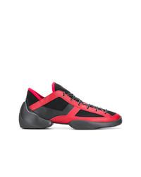 Deportivas en rojo y negro de Giuseppe Zanotti Design
