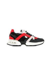 Deportivas en rojo y negro de Philipp Plein