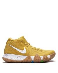 Deportivas estampadas amarillas de Nike