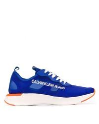 Deportivas estampadas azules de Calvin Klein Jeans
