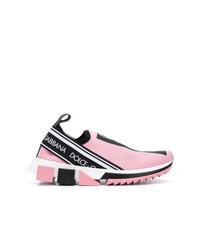 Deportivas rosadas de Dolce & Gabbana