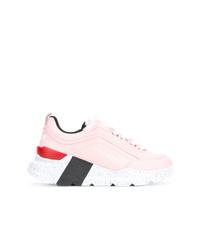 Deportivas rosadas de MSGM
