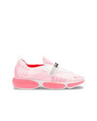 Deportivas rosadas de Prada
