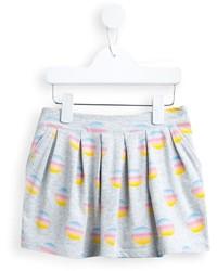 Falda a lunares blanca de Little Marc Jacobs