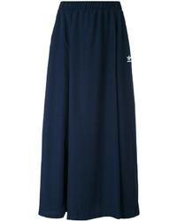Falda azul marino de adidas