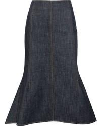 Falda azul marino de Derek Lam