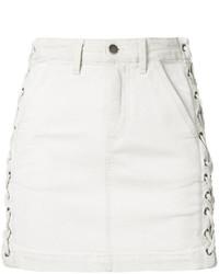 Falda blanca de A.L.C.