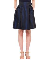 Falda campana azul marino