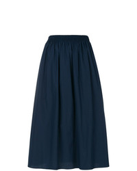 Falda campana azul marino de Agnona