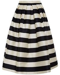 Falda campana en blanco y negro original 3149601