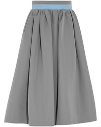 Falda campana gris