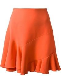Falda campana naranja