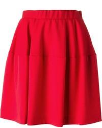 Falda campana roja de P.A.R.O.S.H.