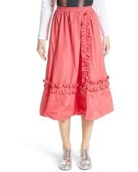 Falda campana rosa