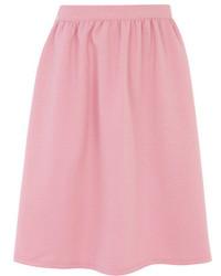 Falda campana rosada