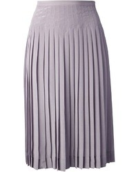 Falda campana violeta claro de Rochas
