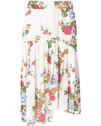 Falda de Flores Blanca de Isabel Marant