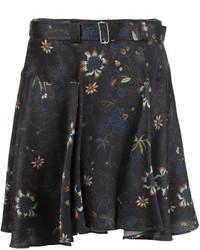 Falda de Seda Negra de A.L.C.