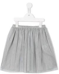 Falda de tul gris de Il Gufo