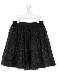Falda de tul negra