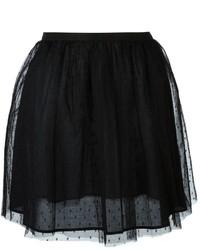 Falda de tul negra de RED Valentino