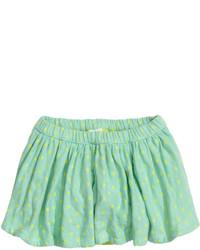 Falda en verde menta