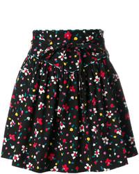Falda Estampada Negra de Marc Jacobs