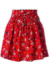 Falda Estampada Roja de Marc Jacobs