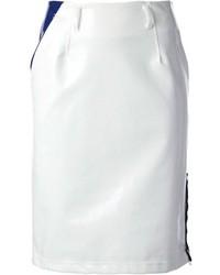 Falda Lápiz Blanca de Kolor