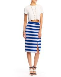 28b006f1e Cómo combinar una falda de rayas horizontales (62 looks de moda ...