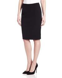 Falda lápiz negra de Calvin Klein