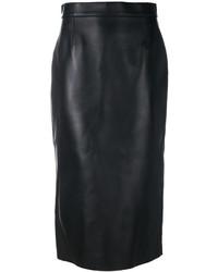 Falda Lápiz Negra de Dsquared2