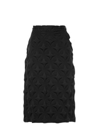 Falda Lápiz Negra de Issey Miyake Vintage