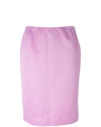 Falda lápiz rosada de Dolce & Gabbana Vintage