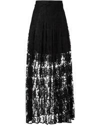 Comprar una falda larga negra Chloé  b12c396e7bf4
