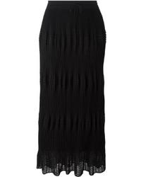 Falda larga negra de M Missoni