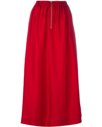 Falda larga roja de Joseph