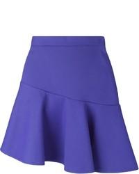 Falda línea a azul de MSGM