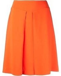 Falda línea a naranja de Rochas