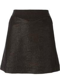Falda línea a negra de Kenzo