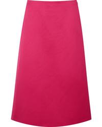 Falda midi rosa original 4378020