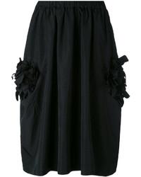 Falda Negra de Comme des Garcons