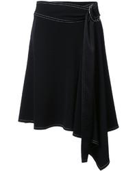 Falda negra de Derek Lam 10 Crosby