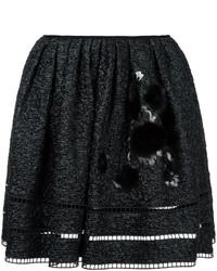 Falda negra de Fendi
