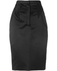 Falda Negra de Givenchy