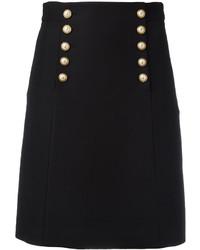 Falda negra de Gucci